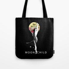 live wild moon child Tote Bag