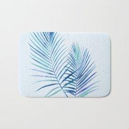 Feathery Palm Leaves Bath Mat