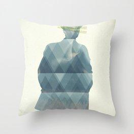 the_horror Throw Pillow