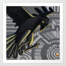 Richard the Raven Art Print