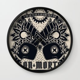 San Morte Wall Clock