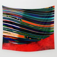 rave Wall Tapestries featuring Rave by Neelie