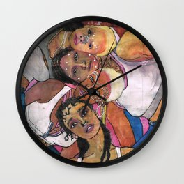 Commercialism at its Best Wall Clock