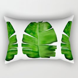 BANANA LEAF painting iPhone 4 4s 5 5c 6 7, pillow case, mugs and tshirt Rectangular Pillow