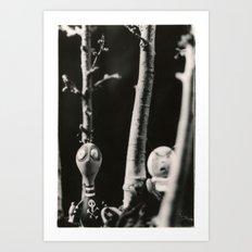 the boys - tim burton Art Print