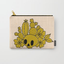 Skull and Cactus Carry-All Pouch