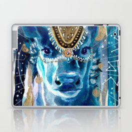 Astral Moon Cow Mandala Laptop & iPad Skin