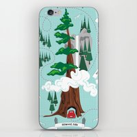 parks iPhone & iPod Skins featuring National Parks by Julie's Fabrics & Thingummies