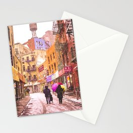 The Colors of Winter - New York City Stationery Cards