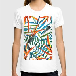 Exotic nature and flowers T-shirt
