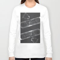 vodka Long Sleeve T-shirts featuring Vodka Visions by Andrea Jean Clausen - andreajeanco