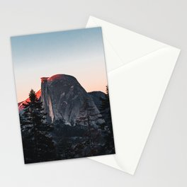 Last Light at Yosemite National Park Stationery Cards