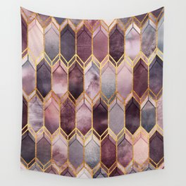 Dreamy Stained Glass 1 Wall Tapestry