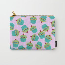 Cupcakes - 'The Marvelous Colors of a Lollipop' Carry-All Pouch