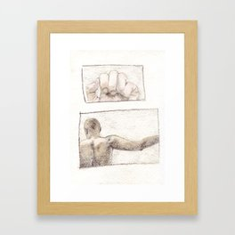 Before Framed Art Print