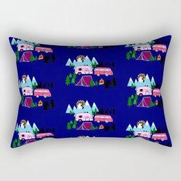Lady Bed Rock Rectangular Pillow