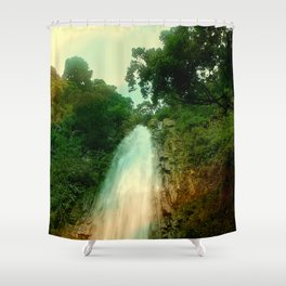 NATURAL WATERFALL Shower Curtain