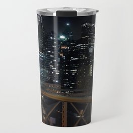 New York by nightII Travel Mug
