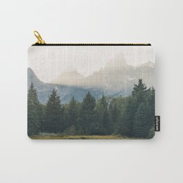 Morning at the lake Carry-All Pouch