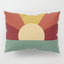 Vintage Sunset Pillow Sham