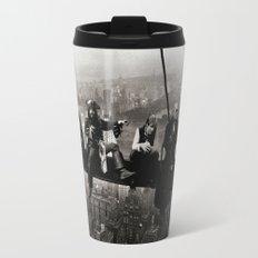 Captains atop a Skyscraper Travel Mug