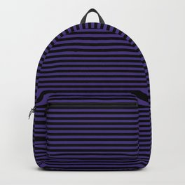 Gothic purple stripes Backpack