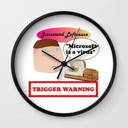 Jamstard Loftsauce Wall Clock