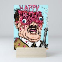 Happy 420 Mini Art Print