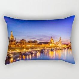 Dresden old town skyline, Germany Rectangular Pillow