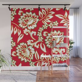 Tropical Eggnog Punch Wall Mural
