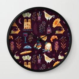 French spirit Wall Clock