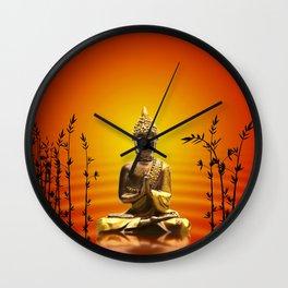 Buddha 14 Wall Clock