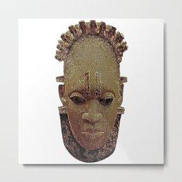 Benin Ancestor Metal Print