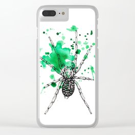 Spider Clear iPhone Case