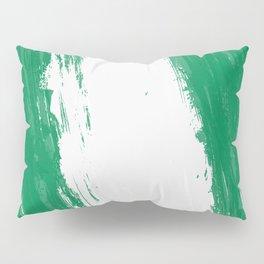 Nigeria's Flag Design Pillow Sham