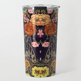 Floral Crossings 02 Travel Mug