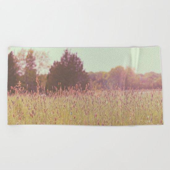 Tall Grass Beach Towel