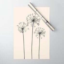 Dandelions Wrapping Paper