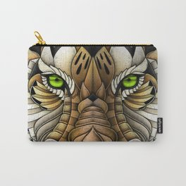 Ornate Tiger Carry-All Pouch