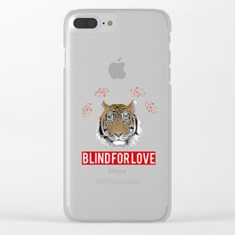 blind for love supreme Clear iPhone Case
