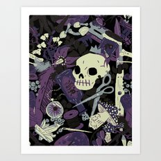 Witchy (Poisonous Variant) Art Print
