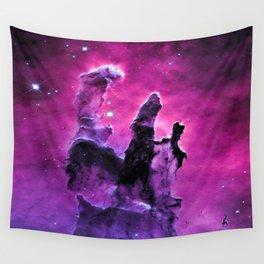 Pillars of Creation Nebula Wall Tapestry