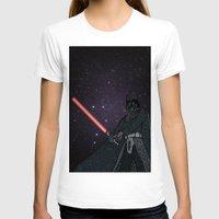 darth vader T-shirts featuring Darth Vader  by Rebecca Bear