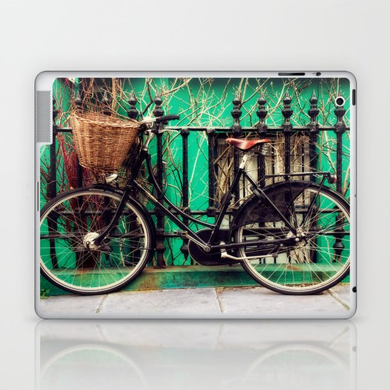Bicycle at Rest Laptop & iPad Skin