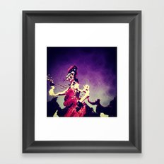 Distorted reality Framed Art Print
