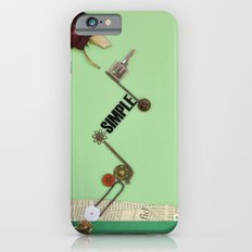 the rose  spring iPhone 6s Slim Case
