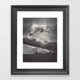 fernweh Framed Art Print