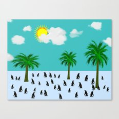 Urlaub Canvas Print