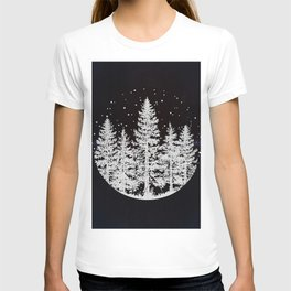 Trees in a Winter Forest T-shirt