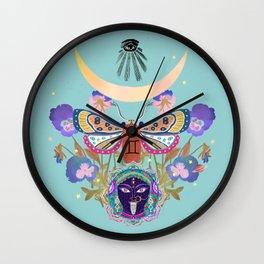 Kali moon Wall Clock